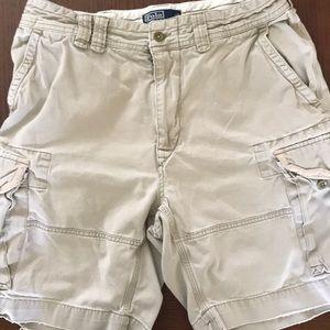 RL Polo Cargo Shorts Sz 34